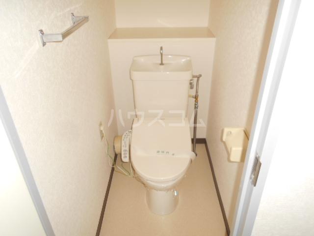 スカイコート 605号室のトイレ