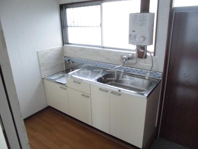 ハイツ姫田 205号室のキッチン