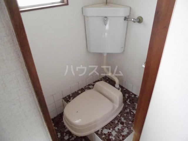 ハイツ姫田 205号室のトイレ
