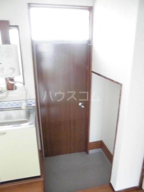 ハイツ姫田 205号室の玄関
