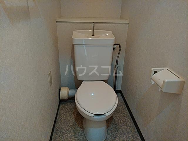 スカイコート 405号室のトイレ