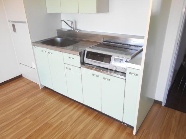 スカイコート 405号室のキッチン