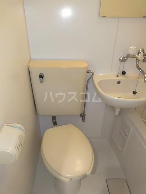 小高ハウス 101号室のトイレ