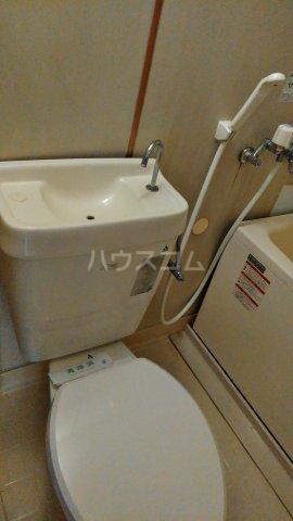 ドミールモリス 202号室のトイレ