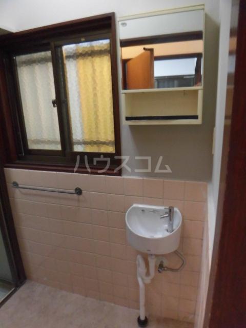 柏市常盤台貸家の洗面所