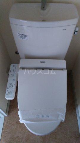 シャトー伊澤 202号室のトイレ
