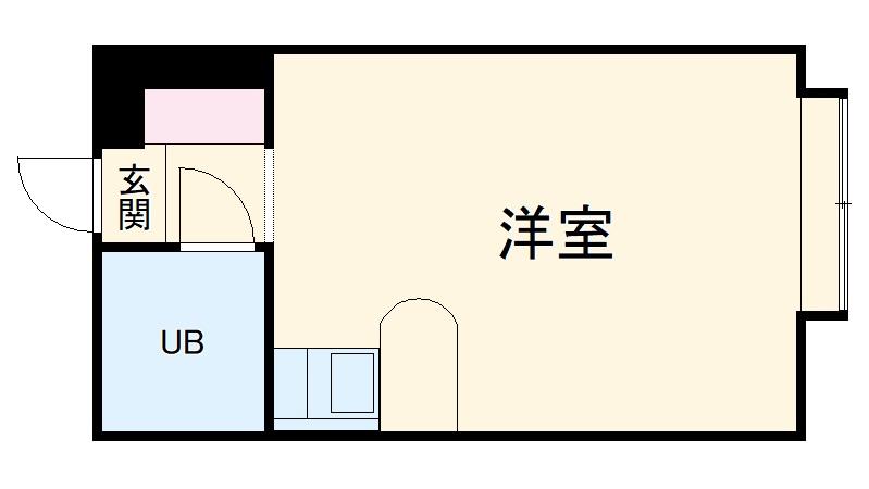 ベルピア茅ヶ崎第10・105号室の間取り