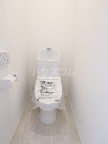 根本マンション 406号室のトイレ