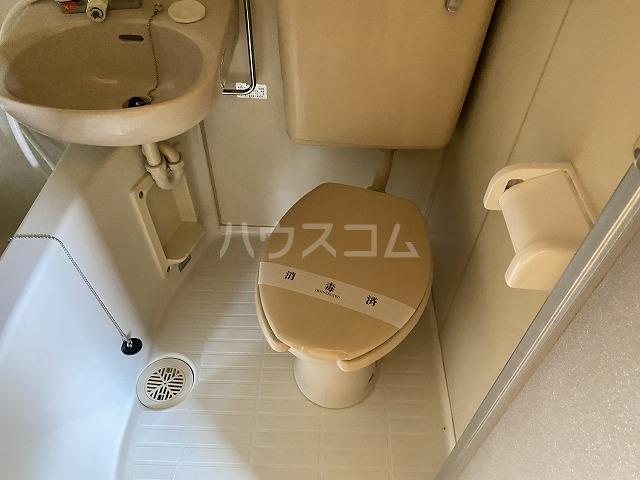 カナレハイツ 208号室のトイレ