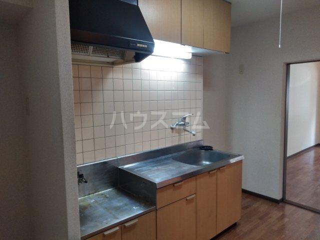 ソレイユK 103号室のキッチン