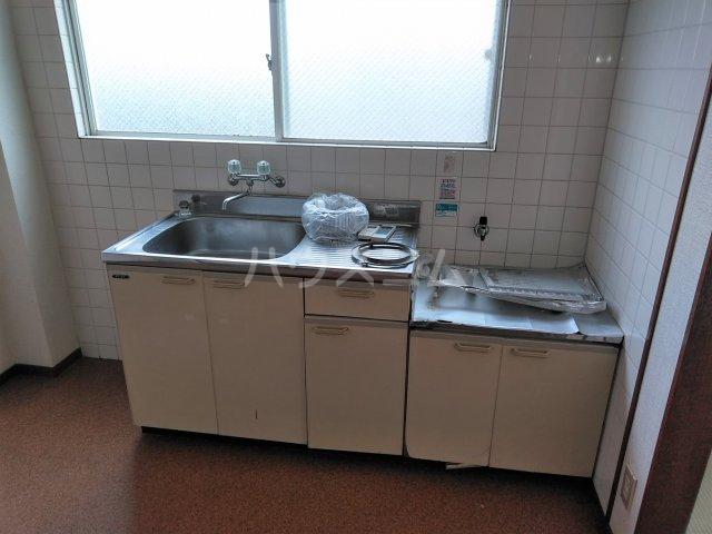 ポートアリス 207号室のキッチン
