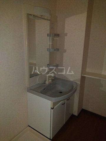 アネシス・K 205号室の洗面所