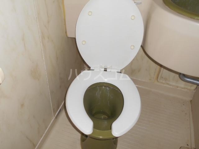 アーバン21 107号室のトイレ