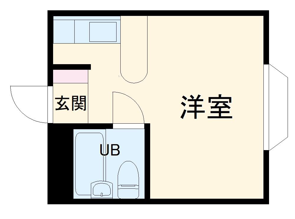 ベルピア・北松戸第4-2・103号室の間取り