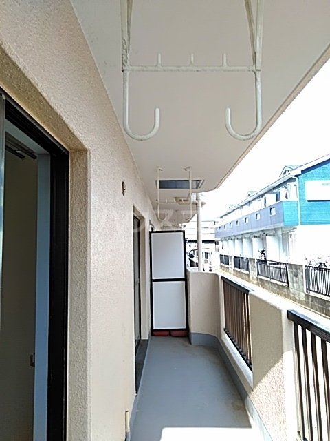 JCマンション 105号室のバルコニー