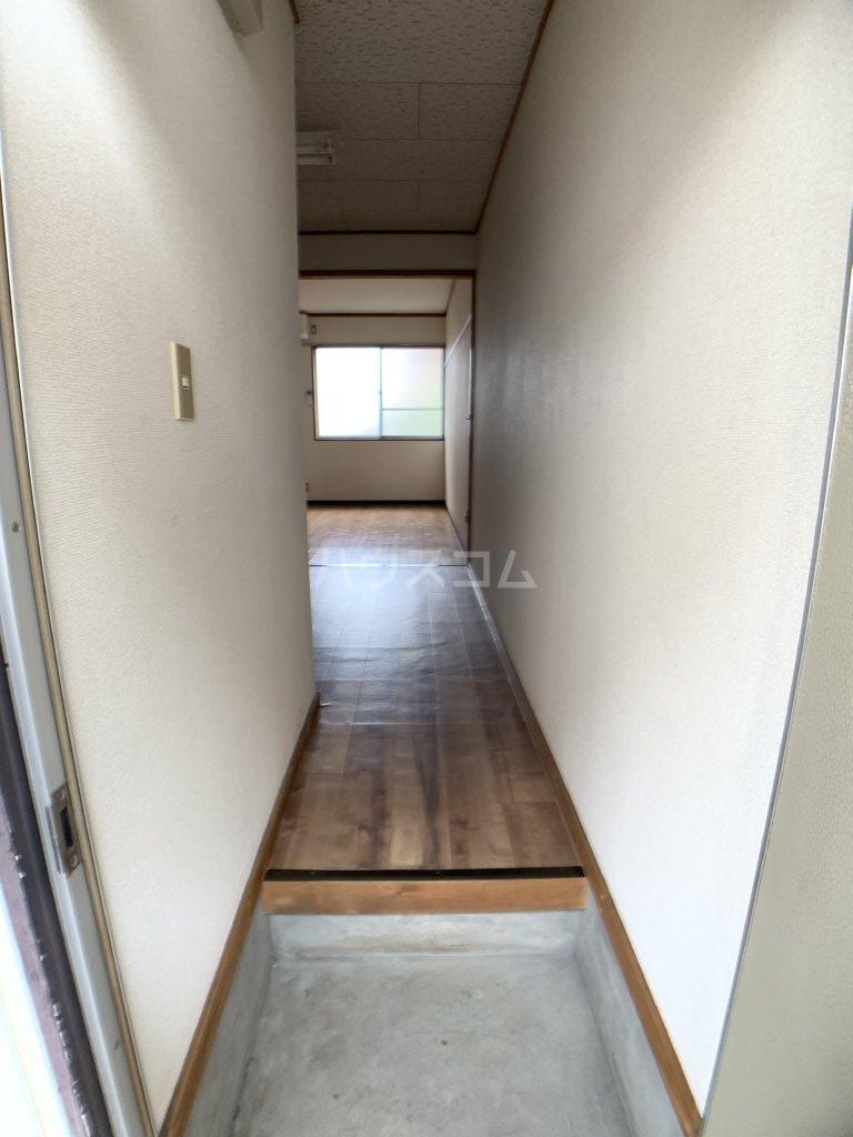 コーポ福伸 61号室の玄関