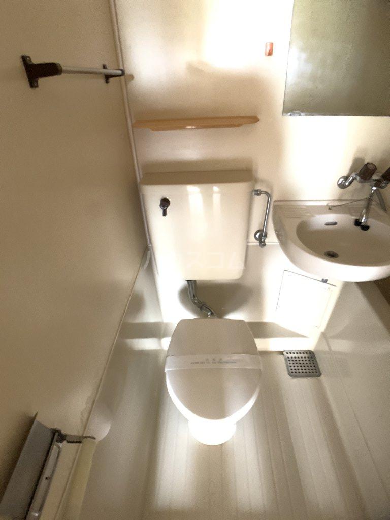 コーポ福伸 61号室のトイレ