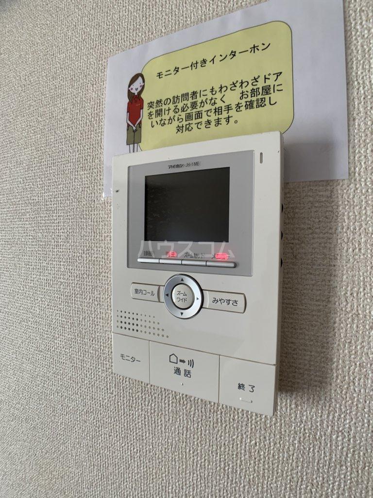 クレセントⅢ 101号室のセキュリティ