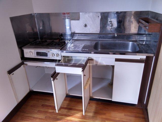 シャンテ三紀 206号室のキッチン