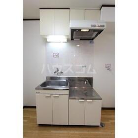 エクセレント 203号室のキッチン