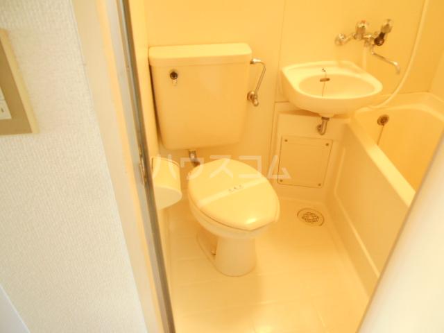 厚木ユースハイム 522号室のトイレ