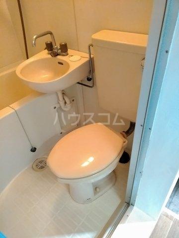 ハイムプリマヴェーラ 102号室のトイレ