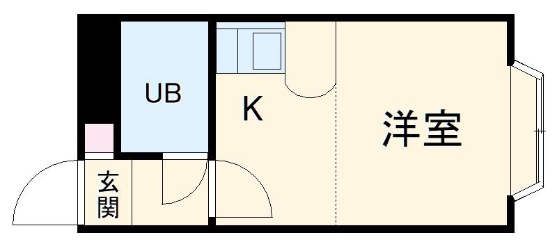 ベルピア・湘南深沢第1・106号室の間取り