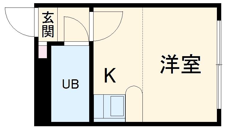 ベルピア・湘南深沢第1・202号室の間取り