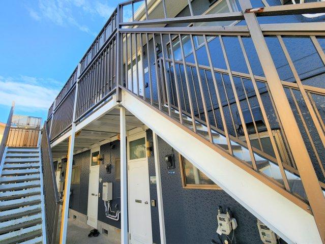 第二袖ヶ浜ハイツ 205号室のキッチン