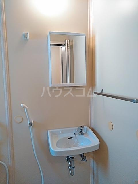 第二袖ヶ浜ハイツ 205号室の洗面所