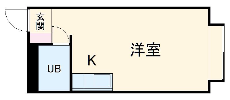ベルピア・鎌倉第4・201号室の間取り