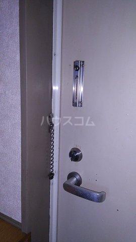 サニイプレイス 105号室のセキュリティ