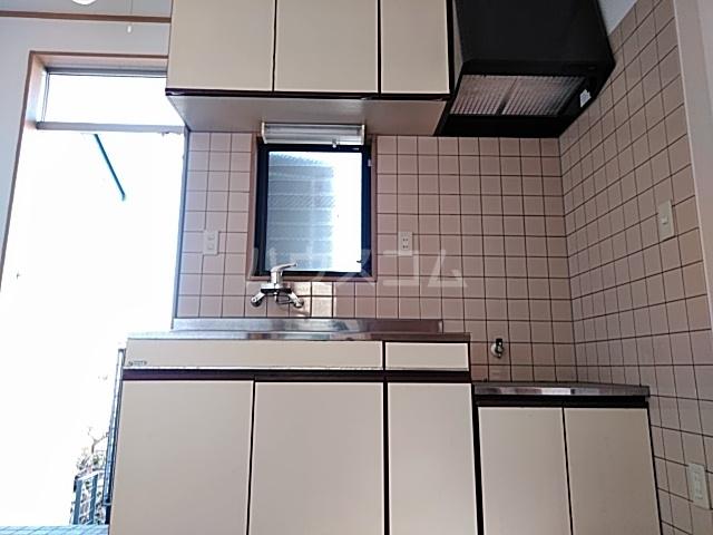 ザ・ワールドハウス 201号室のキッチン