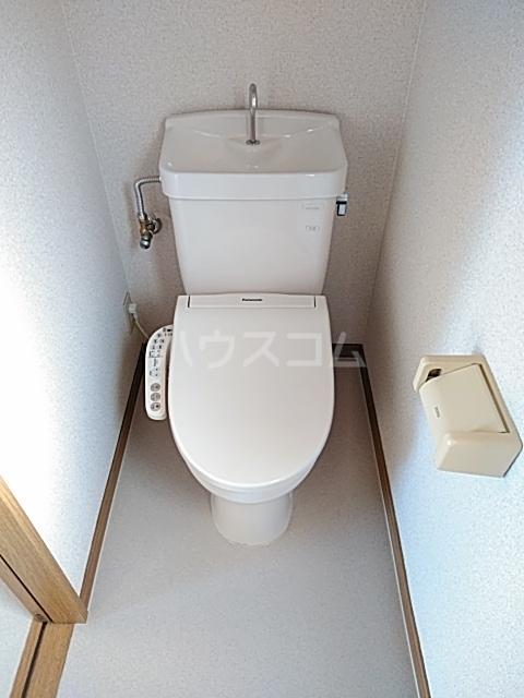 ザ・ワールドハウス 201号室のトイレ