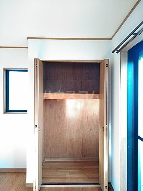 ザ・ワールドハウス 201号室の収納