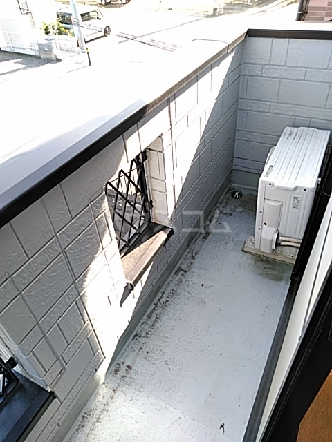 ザ・ワールドハウス 201号室のバルコニー