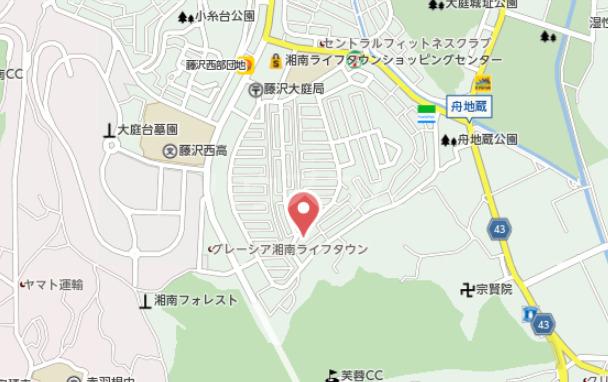 アゼリアコート湘南 303号室の地図