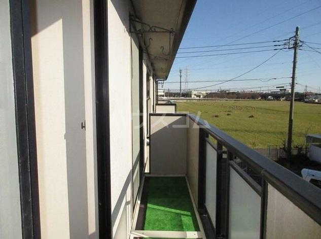 ウィンズ湘南 2棟 202号室のバルコニー