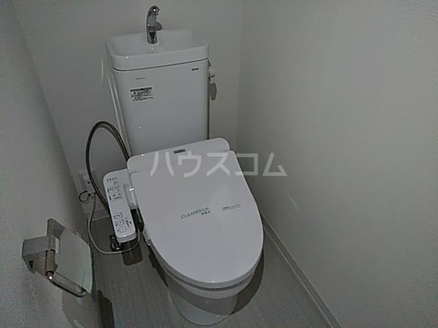 レモングラスA棟 302号室のトイレ