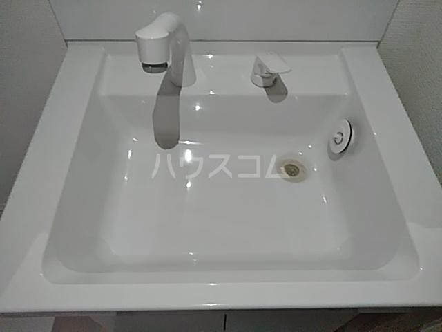 レモングラスA棟 302号室の洗面所