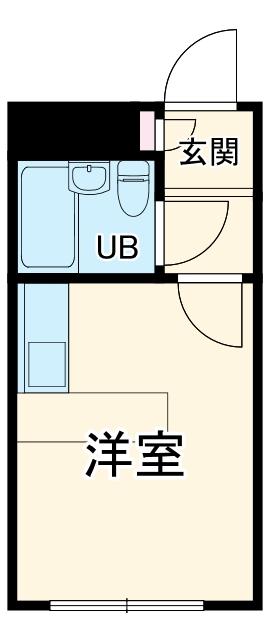 ベルピア鎌倉第2-2・203号室の間取り