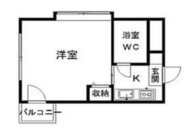 ジュネパレス平塚第02・201号室の間取り