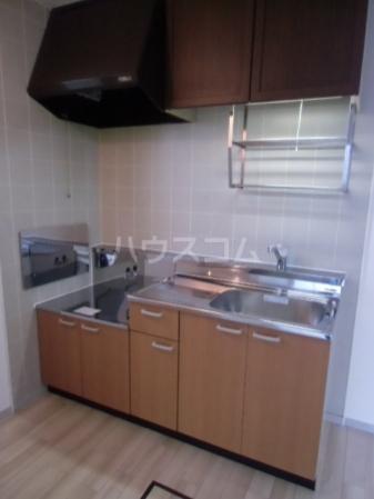 サントビーヒルズA 101号室のキッチン