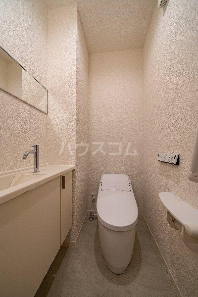 Gargantua S号室のトイレ