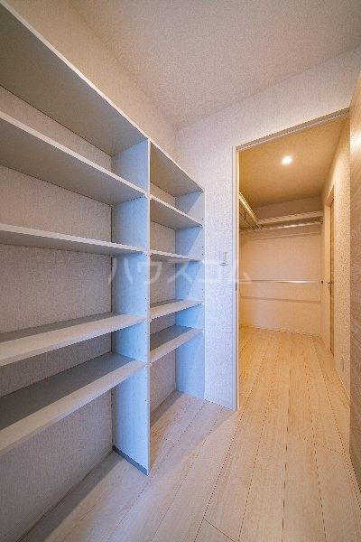 Gargantua S号室の収納
