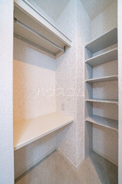 Gargantua M号室の収納
