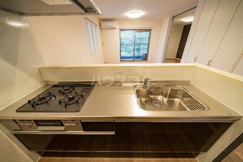 Gargantua M号室のキッチン