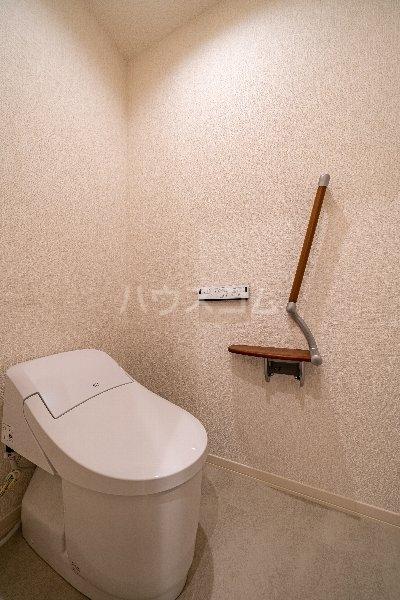 Gargantua M号室のトイレ