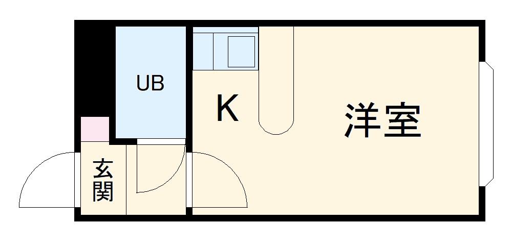 ベルピア・辻堂第6・106号室の間取り