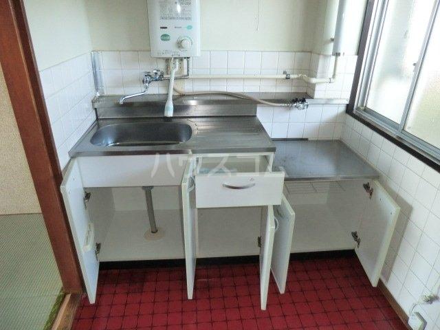 田中マンション 304号室のキッチン